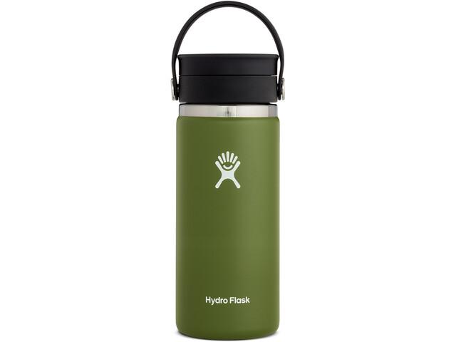 Hydro Flask Coffee Gourde Avec Bouchon Flex Sip 473ml, olive